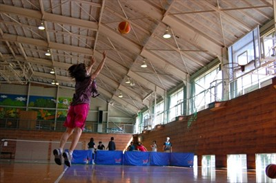 バスケのシュート練習でボールが滑るとお悩みなら